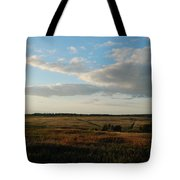 Landscape Far From The City Tote Bag