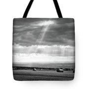 Landscape From Garrowby Hill, Yorkshire Uk Tote Bag