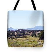 Landscape Galisteo Nm K10h Tote Bag