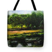 Landscape In North Wales Tote Bag