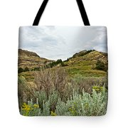 Landscape In Northwest North Dakota  Tote Bag