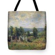 Landscape In Summer Tote Bag
