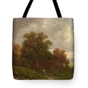 Landscape In The Loisach-valley Tote Bag