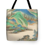 Landscape In The Style Of The Old Masters Tote Bag