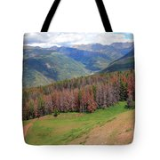 Landscape In Vail Tote Bag