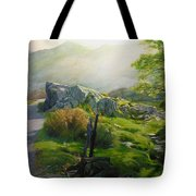 Landscape In Wales Tote Bag