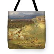 Landscape Near Corinth Tote Bag