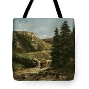 Landscape Near Ornans Tote Bag