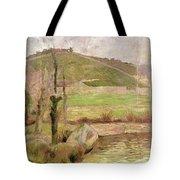 Landscape Near Pont Aven Tote Bag