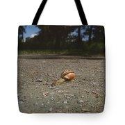 Landscape Of The Snail Tote Bag