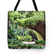 Landscape Rip Van Winkle Gardens Louisiana  Tote Bag