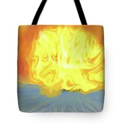 Landscape Sunrise Tote Bag