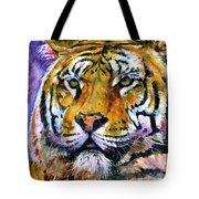 Landscape Tiger Tote Bag