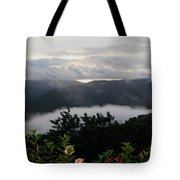 Landscape Tropical Tote Bag