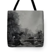 Landscape Value Study Tote Bag