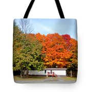 Landscape View Of Mobile Home 2 Tote Bag