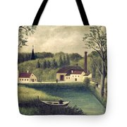 Landscape With A Fisherman Tote Bag