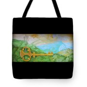 Landscape With A Key Tote Bag