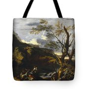 Landscape With A Lake Tote Bag