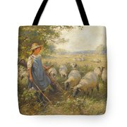 Landscape With A Shepherdess Tote Bag