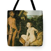 Landscape With Apollo And Diana Tote Bag