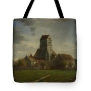Landscape With Buildings Tote Bag