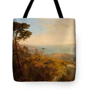 Landscape With Classical Ruins Tote Bag