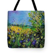 Landscape With Cornflowers 459060 Tote Bag