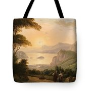 Landscape With Decorative Tote Bag