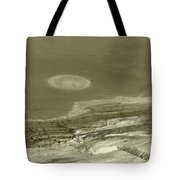 Landscape With Moon Tote Bag