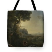 Landscape With Narcissus And Echo Tote Bag