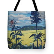 Landscape With Nettles Tote Bag