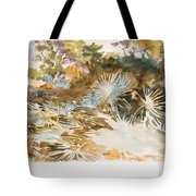 Landscape With Palmettos Tote Bag