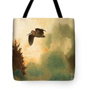 Landscape With Snipe Tote Bag