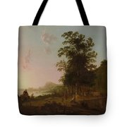 Landscape With The Flight Into Egypt Tote Bag