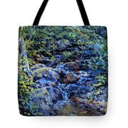 Landscape With Waterfall 1890 Tote Bag