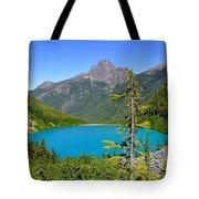 Landslide Lake Tote Bag