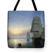 Lane: Boston Harbor Tote Bag