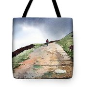 Lane To Quarry Pole Moor Tote Bag