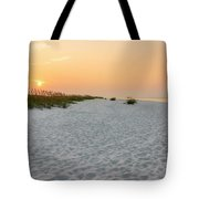 Langdon Beach Sunrise 5 - Pensacola Beach Florida Tote Bag