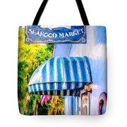 Lang's Marina Seafood Market Tote Bag