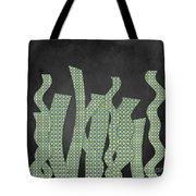 Languettes 02 - Lime Tote Bag