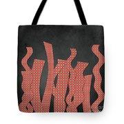 Languettes 02 - Orange 2 Tote Bag