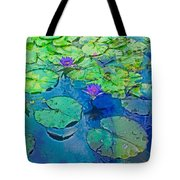 Languid Lagoon Tote Bag