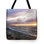 Laniakea Beach Sunset Tote Bag