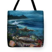 Laniakea Line Up Tote Bag