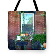 Lanier Winery Bistro Table Tote Bag
