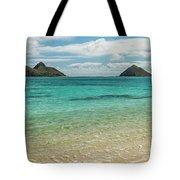Lanikai Beach 4 Pano - Oahu Hawaii Tote Bag
