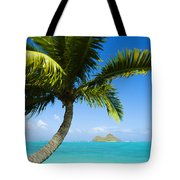 Lanikai Palm Tote Bag