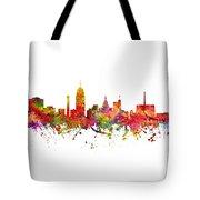 Lansing Cityscape 08 Tote Bag